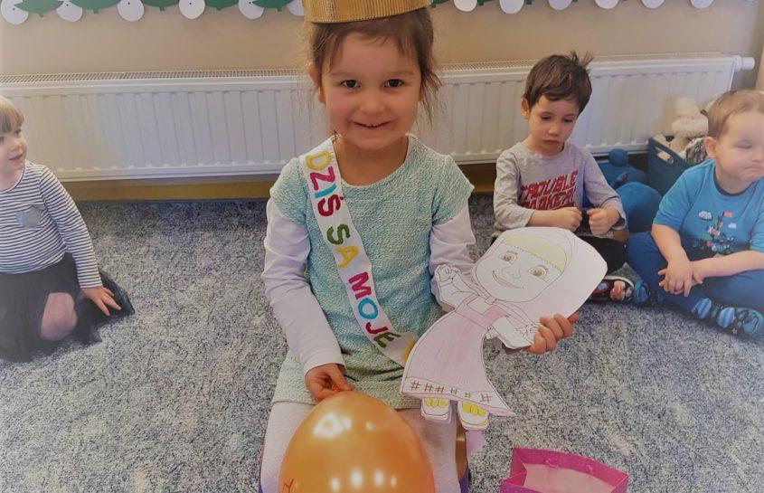 Urodziny Zuzi z grupy Krasnoludków