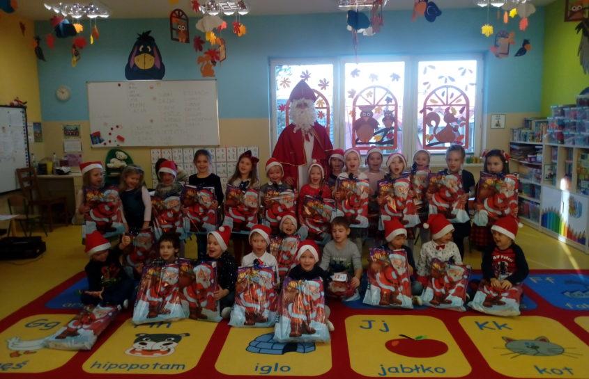 Mikołaj z wizytą u Krasnoludków
