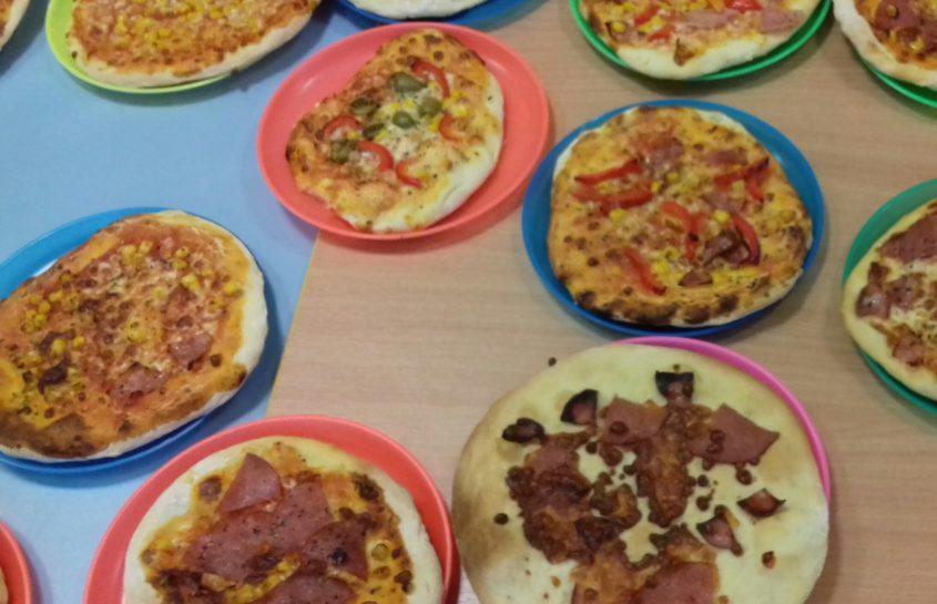 Dzień pizzy u Misiów