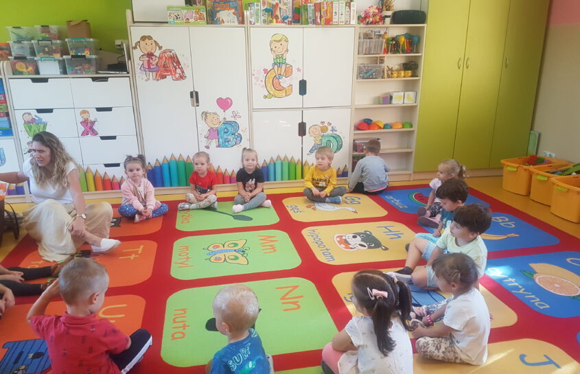 Pierwszy tydzień Króliczków w przedszkolu